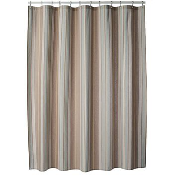 SONOMA life + style Torrance Stripe Fabric Shower Curtain