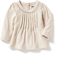Old Navy Pintuck Jersey Top For Baby