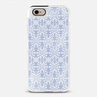 Flower lace_blue iPhone 6 case by Kanika Mathur | Casetify