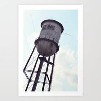 THAT OLD MILL Art Print by Allyson Johnson