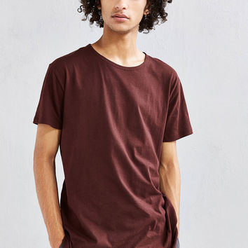 Curved Hem Tee | Urban Outfitters
