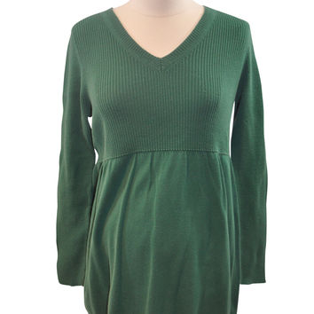 Green Long Sleeve Sweater by Two Hearts Maternity