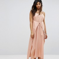 Zulu & Zephyr Wrap Front Maxi Beach Dress at asos.com
