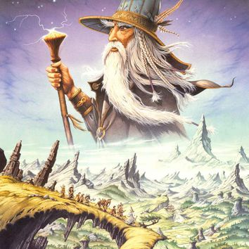 Rodney Matthews Lord of the Rings Poster 24x34
