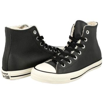 Converse All Star Sneakers Shoes GRAY HIGH TOP SHEARLING BOOT 149125C Mens 3.5 / Women