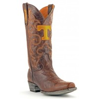 Gameday Boots Mens Leather University Of Tennessee Board Room Cowboy Boots