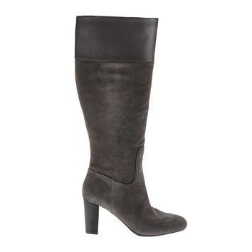 Isaac Mizrahi Live! Women's Suede Tall Shaft Boots