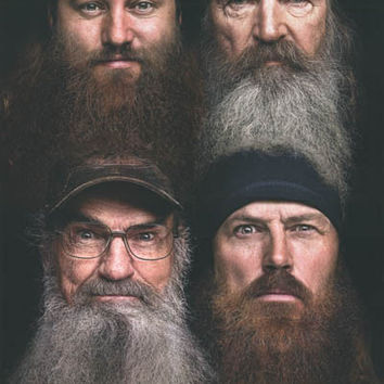 Duck Dynasty TV Show Cast Poster 22x34