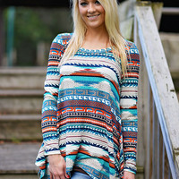 Fall For You Tunic Top