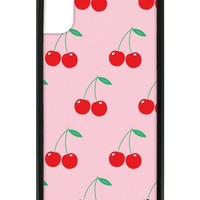 Pink Cherries iPhone X Case