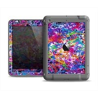The Neon Overlapping Squiggles Apple iPad Air LifeProof Fre Case Skin Set