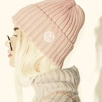 DCCKH3F Stussy Woman Fashion Beanies Winter Knit Hat Cap