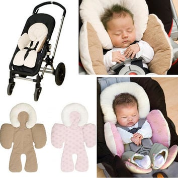 JJ COLE Reversible Baby Body Support Compliance FMVSS- 213 To Use in Car seat Stroller body Support Cushions