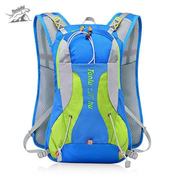 Hydration Trail Running Backpack Cycling Bicycle Outdoor Sport Bag Race Training Professional Vest 15L Men Backpacks XA224WA