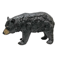 Park Avenue Collection North American Black Bear Walking Statue