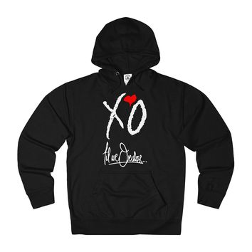 XO Til We Overdose... Adult Unisex French Terry Hoodie