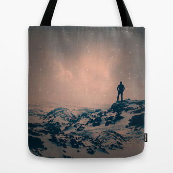 Lost the Moon While Counting Stars Tote Bag by Soaring Anchor Designs
