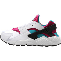 Nike WMNS Air Huarache Run - White/Radiant Emerald/Sport Fuchsia