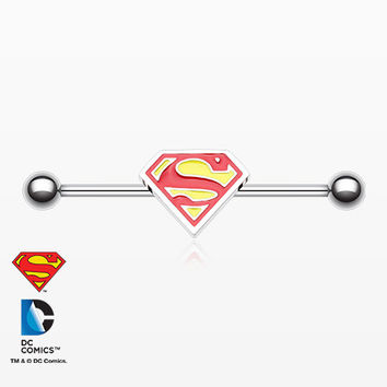 The Classic Superman Industrial Barbell