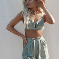 Undefined Olive Two Piece Set