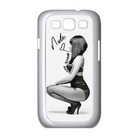 Nicki Minaj Samsung Galaxy S3 I9300/I9308/I939 Case Faceplate Cases Cover White Gray at abcabcbig store