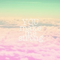 ***YOU MAKE ME STRONG *** Art Print by SUNLIGHT STUDIOS *** For this faboulous song of 1D !