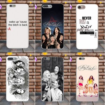 Suef For Sony Xperia Z Z1 Z2 Z3 Z4 Z5 compact Mini M2 M4 M5 T3 E3 XA Lovely Block Phone Case Pretty Little Liars Tv