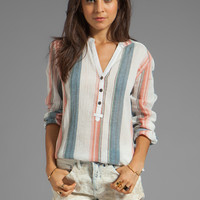 Sanctuary Provence Blues Tunisian Tunic in Verigated Stripe from REVOLVEclothing.com