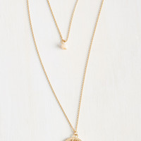 Land of Milk and Honeycomb Necklace | Mod Retro Vintage Necklaces | ModCloth.com