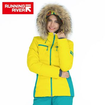 Winter Thermal Ski Down Jacket 5 Colors 5 Sizes High Quality Warm Outdoor Sports Jackets