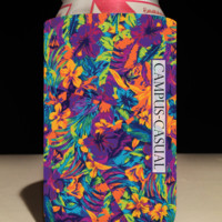 Clemson Tigers Aloha Can Coozie
