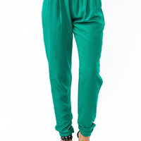 Just-The-Trimmings-Lounge-Pants BURGUNDY EMERALD KHAKI ROYAL - GoJane.com