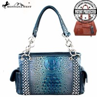 Montana West MW188G-8085 Concealed Carry Handbag