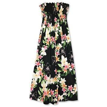 pebble hawaiian maxi dress