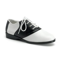 Womens ORIGINAL Costume Saddle Shoes - Black and White