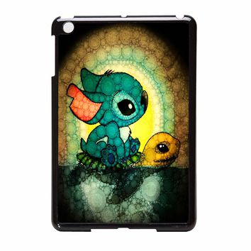 Swimming Stitch Galaxy Sfour iPad Mini Case
