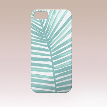 Tropical Iphone Case,Tropical phone case,Leaf iphone case, Iphone 6 case , Iphone 5 case, Iphone 4 case, custom iphone cover, I6 phone