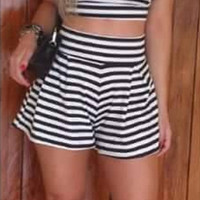 Stripe Two Piece Set