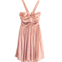 The Jetset Diaries Short Lived Dress in Peach | Les Pommettes