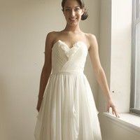 Julie Wedding Gown by Leanimal on Etsy