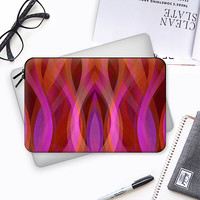 Abstract Waves C2 Macbook 12 sleeve by Medusa GraphicArt | Casetify