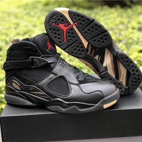 Air Jordan 8 Retro OVO AA1239-045 Sport Shoe 41---47.5