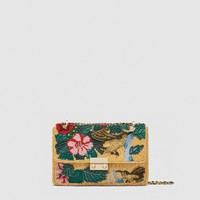 BEADED BIRDS CROSSBODY BAG DETAILS