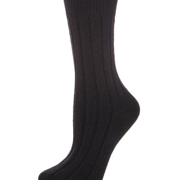 Ribbed Lush Boot Sock