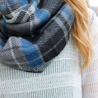 Snowed In Infinity Scarf - ONE SIZE /