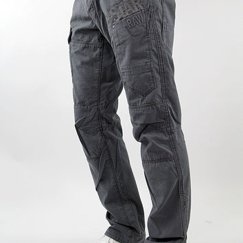 G-STAR RAW General 5620 Tapered Le Mans Embro Storm Canvas