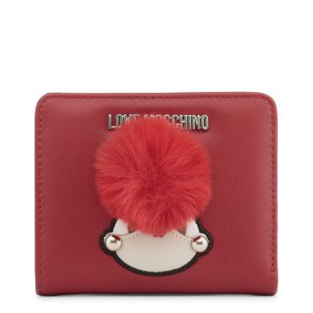 Love Moschino Red Puff Wallet