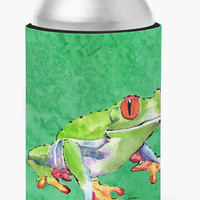 Frog Can or Bottle Beverage Insulator Hugger