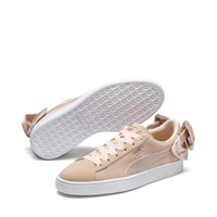Suede Bow Valentine Women's Trainers