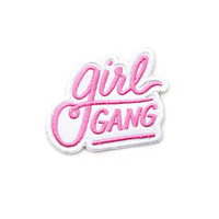 Girl Gang Patch - Pink